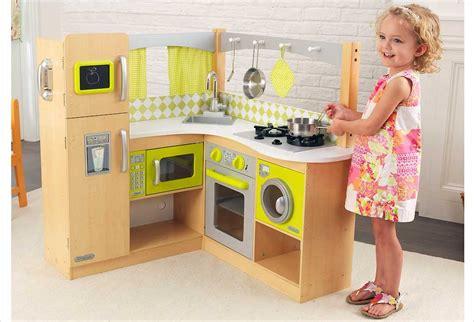 cuisine en bois kidkraft cuisine d 39 angle en bois jouet cuisine kidkraft bois
