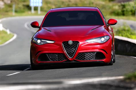 Alfa Romeo Giulia (2016) In Pictures And On Video It's