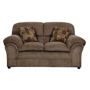 simmons chion mocha loveseat