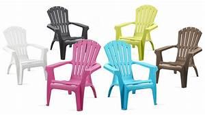 Fauteuil En Plastique : fauteuil de jardin en plastique pas cher ~ Edinachiropracticcenter.com Idées de Décoration