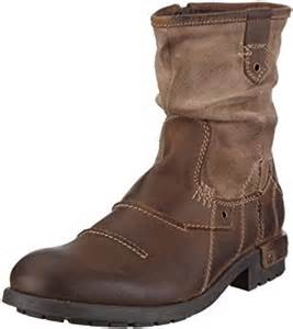 amazon s boots size 9 bugatti 39 s d192483 biker boots brown size 14 amazon co uk shoes bags