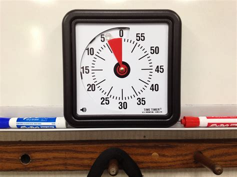 Stay On Schedule With The Time Timer • Teachkidsart