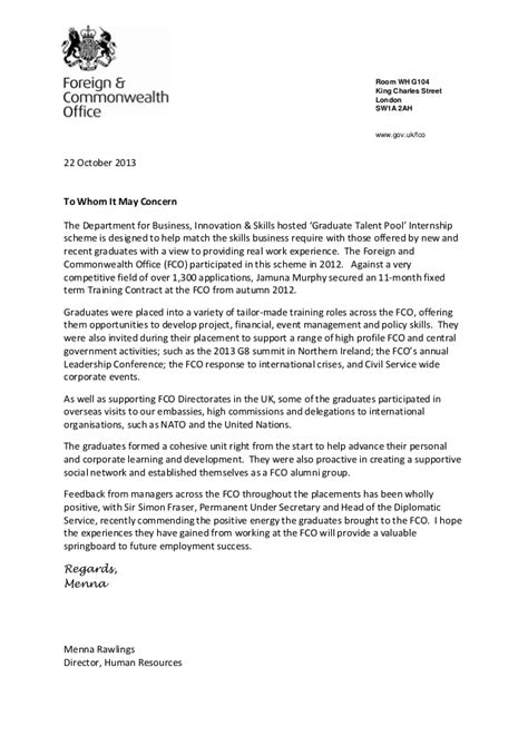 placement reference letter template  menna