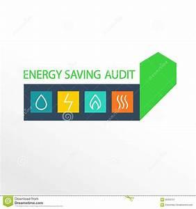 Vector Logo  Energy Efficiency Stock Vector