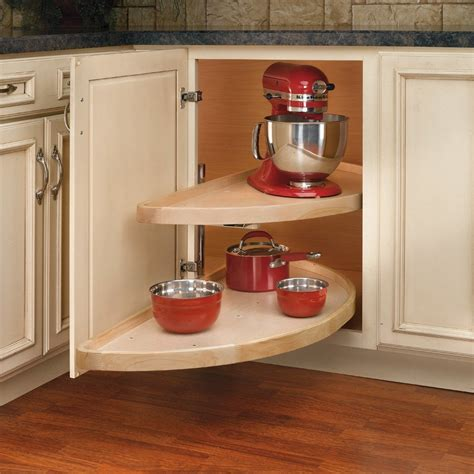 lazy susan for corner kitchen cabinet rev a shelf 2 shelf pivot slide half moon lazy susan 38 9680