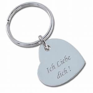 Schlüsselanhänger Herz Gravur : schl sselanh nger herz ein pers nliches geschenk als unikat geschenkegarten ~ Sanjose-hotels-ca.com Haus und Dekorationen