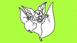Bartok The Bat Drawing - How To Bartok The Bat