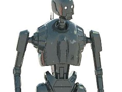 K-2so Star Wars Rogue One Robot By Masterclip