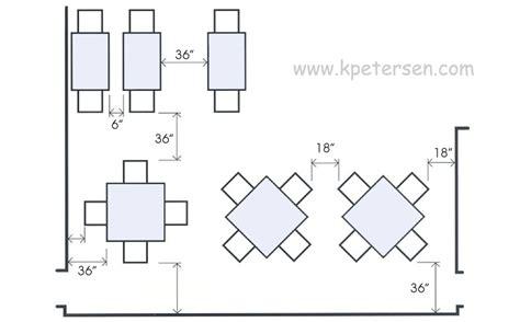 dimension table cuisine restaurant kitchen layout dimensions design home design