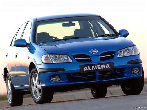 Wallpapers of Nissan Almera Sedan ZA-spec (N16) 2000–03 ...
