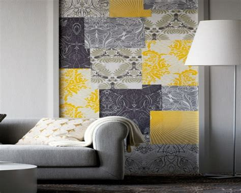 Yellow Living Room Wallpaper by Grey Bedroom Wallpaper The Yellow Wallpaper A