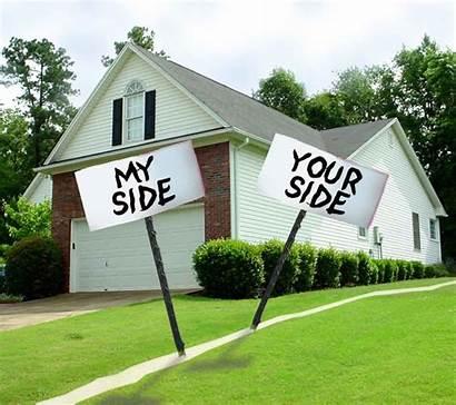 Property Line Dispute Disputes Signs