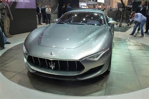 Maserati Alfieri Makes Production
