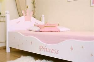 Lit Princesse 90x190 : lit enfant princesse blanc rose ~ Teatrodelosmanantiales.com Idées de Décoration