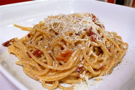 cuisine spaghetti carbonara