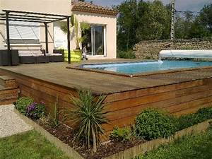 Construction pose vente amenagement de terrasses bois for Attractive amenagement autour de la piscine 11 piscine en pente