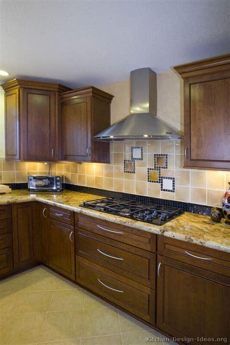 pictures  kitchens traditional dark wood walnut