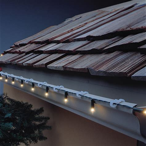 christmas lights gutter hooks and outdoor christmas lights