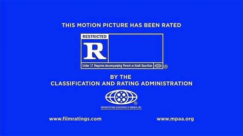 Rated R Mpaa Rating Ids Logo (2013) Bumpers