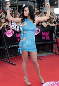 Katy Perry in a skimpy blue dress: Dare to wear? | Metro News