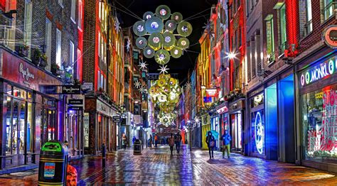 carnaby christmas lights     london