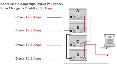Boat Battery In Parallel by Charging Batteries In Parallel How To Charge Batteries