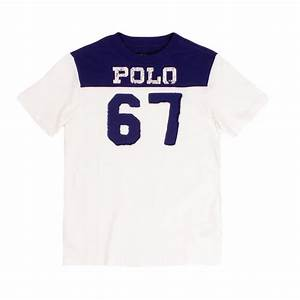 Polo Ralph Size Chart Mens Ralph Boys Navy Cream 67 Jersey T Shirt The Rainy