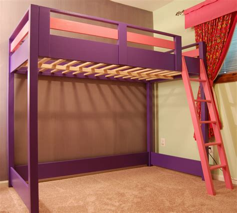 loft bed white and play loft bed diy projects
