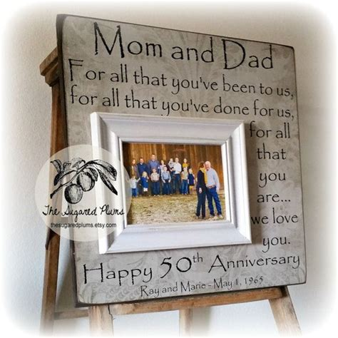best 25 anniversary gifts for parents ideas on pinterest