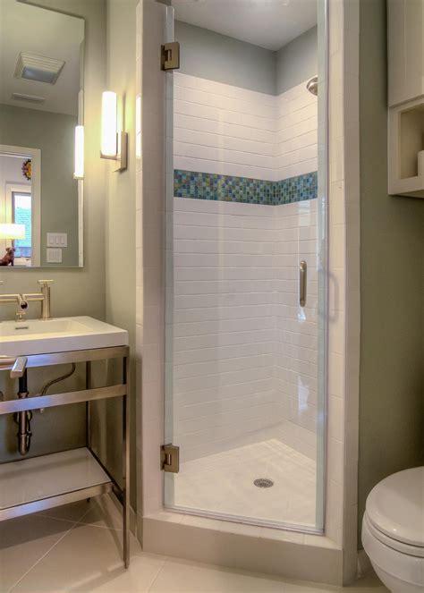 contemporary bathroom  small tile shower hgtv