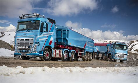 longthorne refreshes fleet    volvo trucks