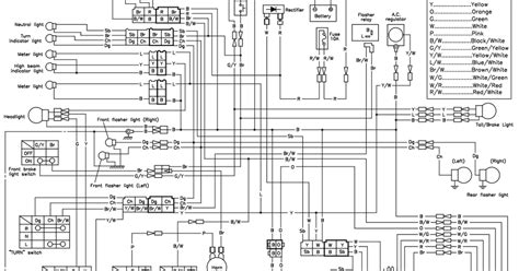 yamaha xt500 wiring diagram wiring diagram