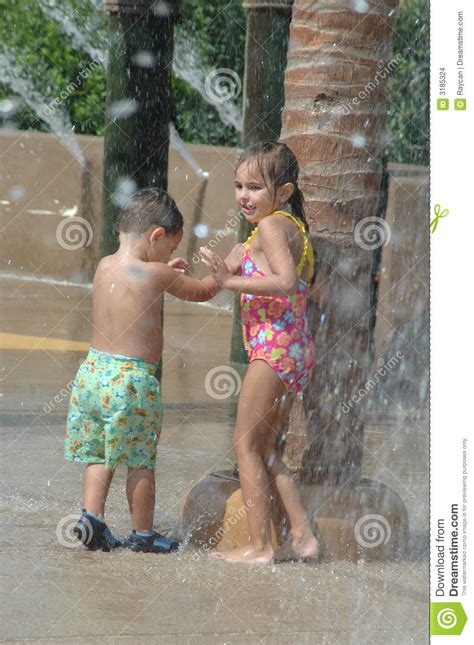 Water Park Playground Stock Photo Image Of Happy Summer