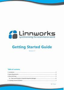 Linnworks Getting Started Guide