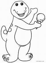 Barney Coloring Pages Printable Cool2bkids sketch template