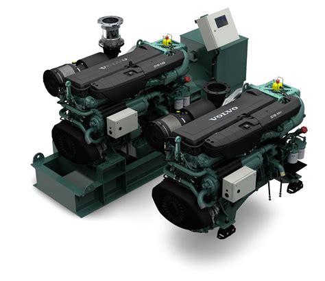volvo penta debuts updated  engine