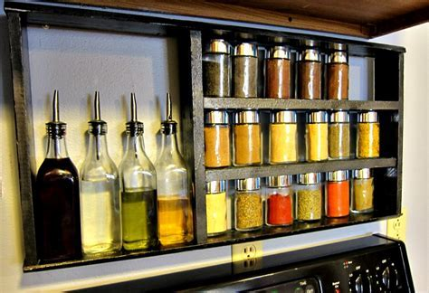 DIY Spice Rack: Instructions and Ideas   Guide Patterns