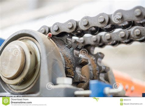 The Mechanism Of The Chain Transmission. Bearing, Drive