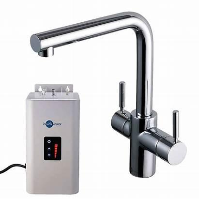 Water Tap Insinkerator Steaming Pack Chrome 3n1