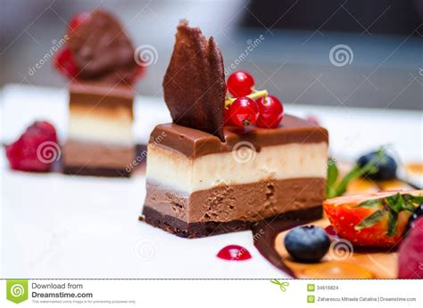 chocolate dessert stock photo image of cake milk