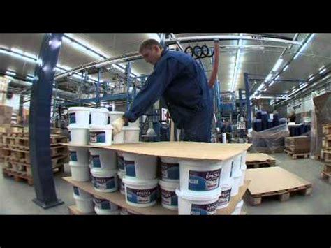 paint manufacturers tikkurila water borne paint production in st petersburg youtube