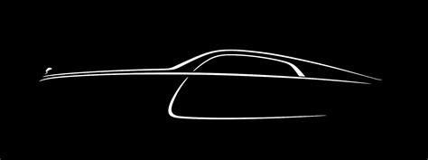final  rolls royce wraith teaser confirms fastback design