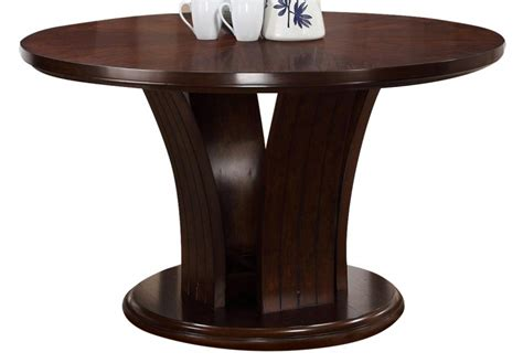 Crown Mark Crown Mark Daria Round Pedestal Dining Table In