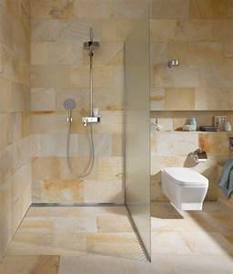 Naturstein Fensterbank Einbauen Video : moderne b der gefliest offene dusche badezimmer ~ Watch28wear.com Haus und Dekorationen