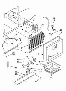 Unit Parts Diagram  U0026 Parts List For Model Ev250nxrq04