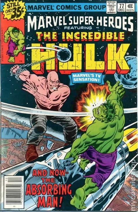 marvel super heroes  st series comic books