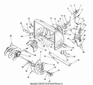 Mtd 31ae6c0f382 Snow Thrower 826  1999  Parts Diagram For