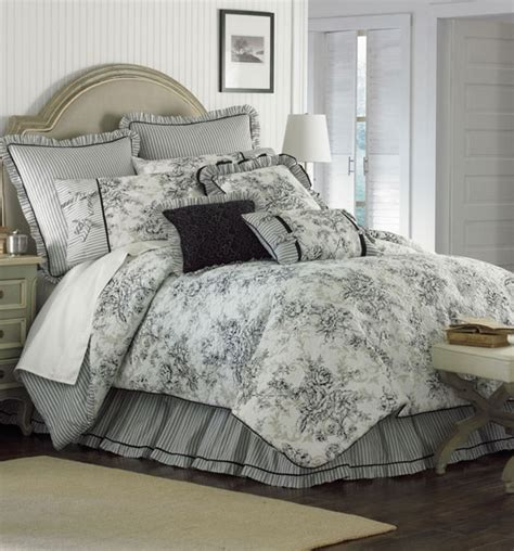 floral toile comforter set tracy pinterest