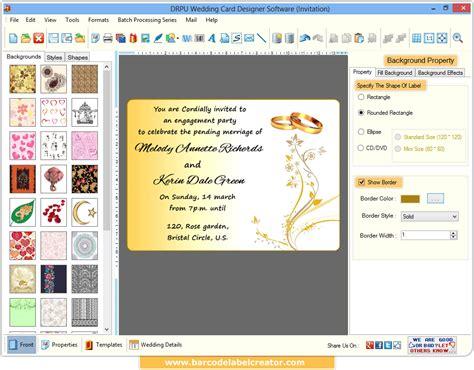 wedding card maker software screenshots corporate cards