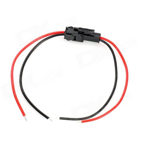 2 led coupler wire for electric diy black 20cm free shipping dealextreme
